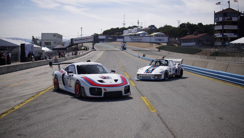 Past and present of the Porsche 935