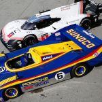 Porsche 919 Meets Its Predecessor