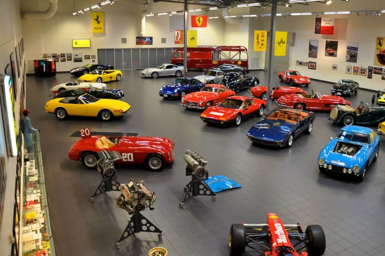 Another view of the Jon Shirley Car Collection