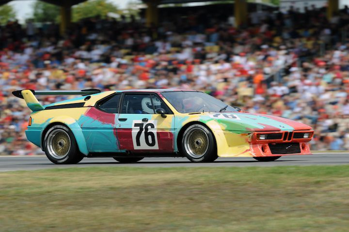 BMW M1 Procar Andy Warhol Art Car