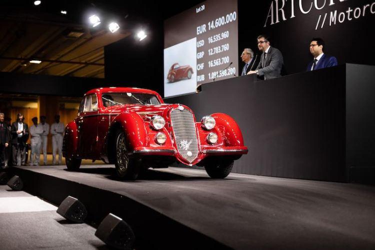 1939 Alfa Romeo 8C 2900 B Touring Berlinetta