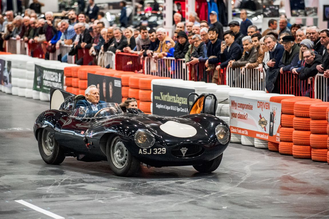 1956 Jaguar D-Type - 2019 London Classic Car Show