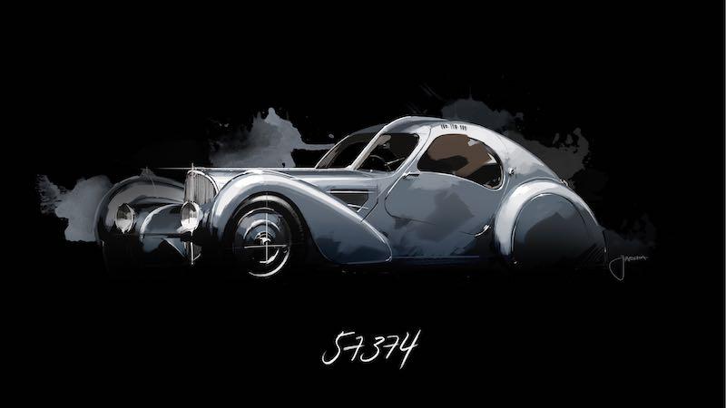Bugatti Type 57 SC Atlantic