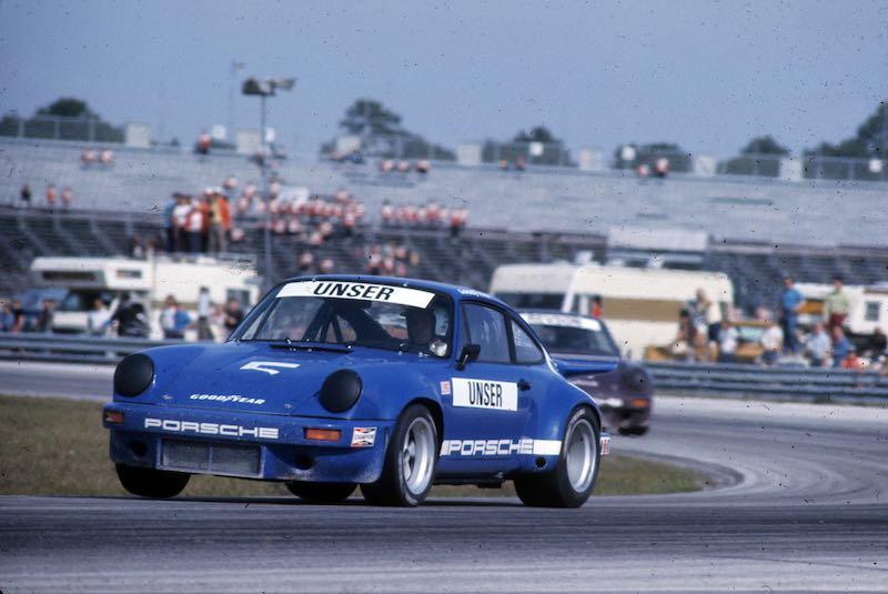 Al Unser - 1974 Porsche 911 Carrera RSR IROC