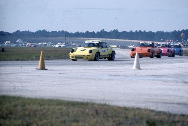George Follmer - 1974 Porsche 911 Carrera RSR IROC