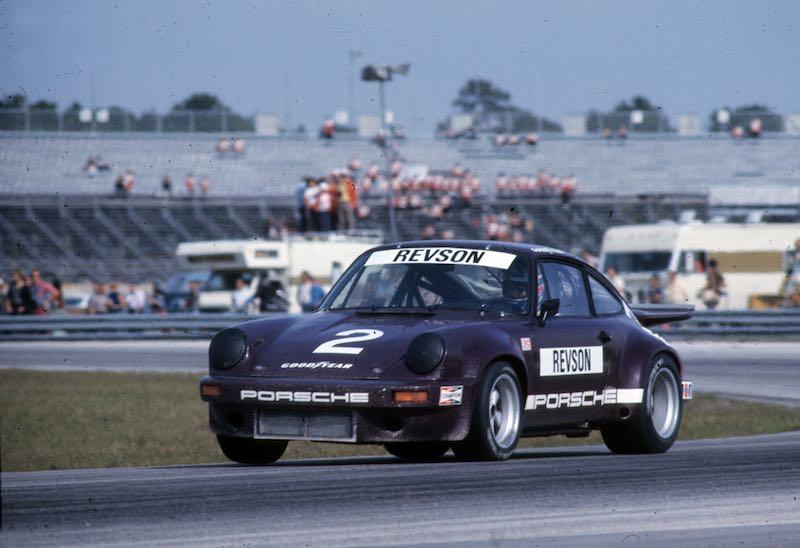 Peter Revson - 1974 Porsche 911 Carrera RSR IROC