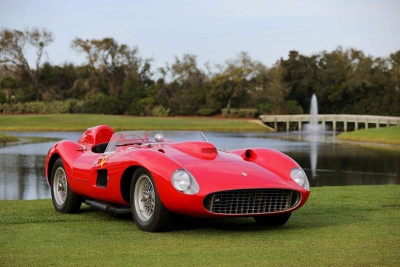 1957 Ferrari 335 S, chassis 0674