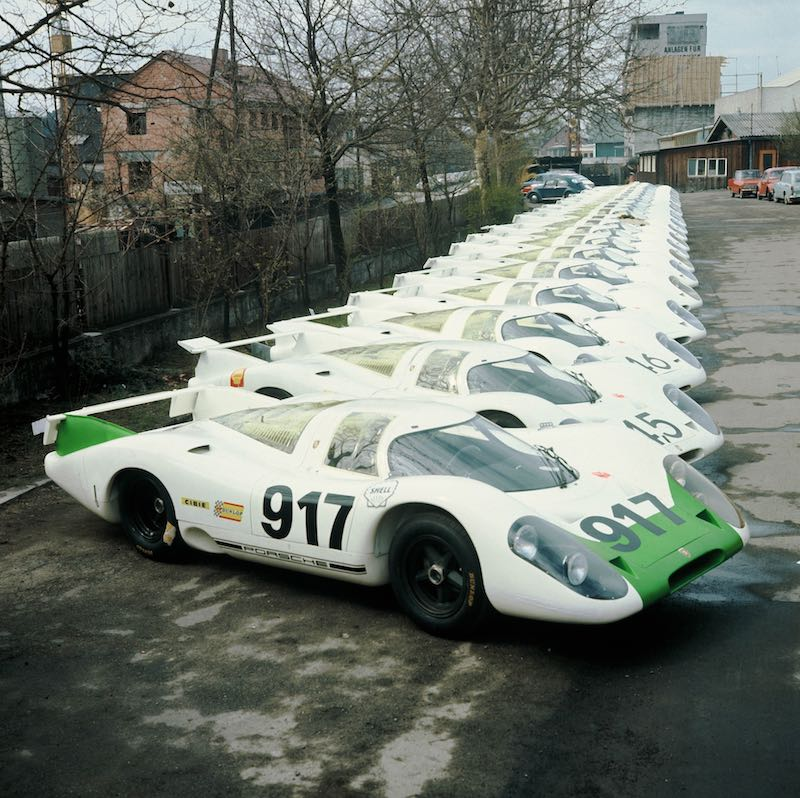 The 917-001 was the first of in total 25 vehicles that had to be made to meet the requirement for type approval.