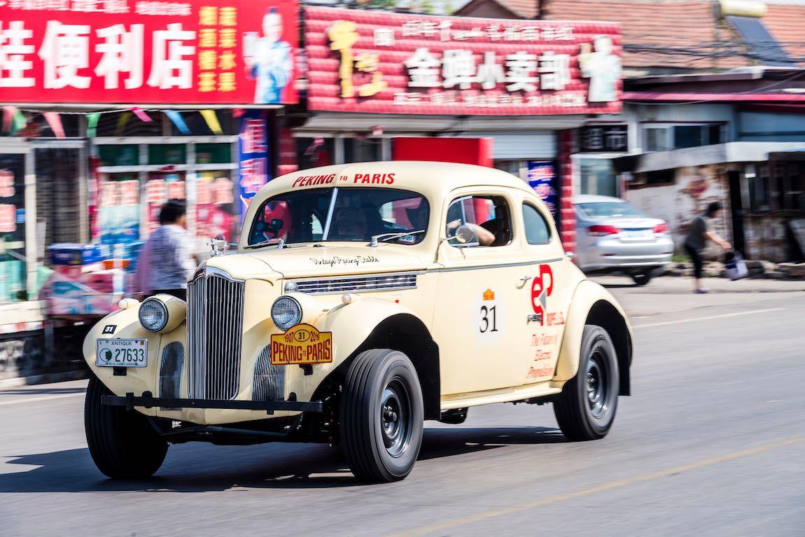 Peking paris rally 2020