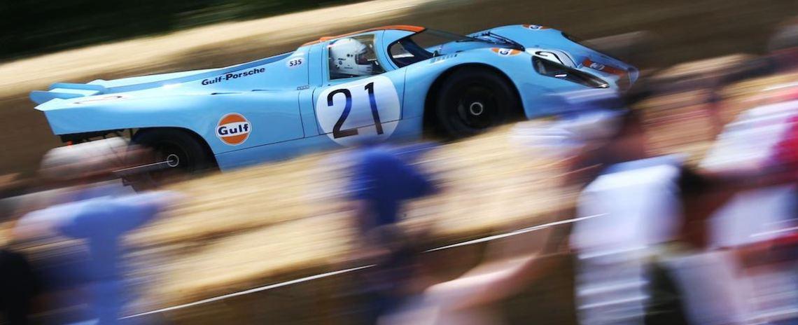 Gulf Porsche 917 Goodwood Festival of Speed
