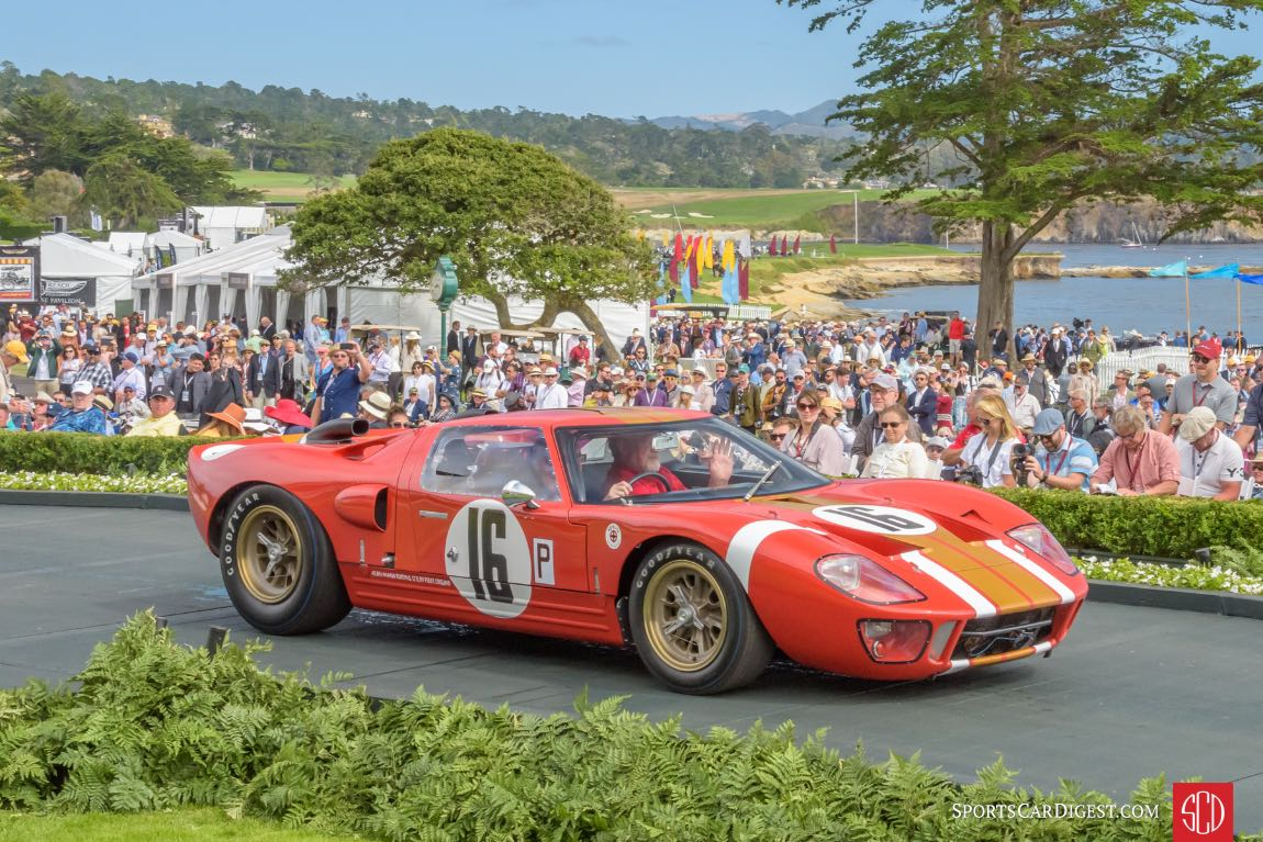 1966 Ford GT40 Pebble Beach Concours