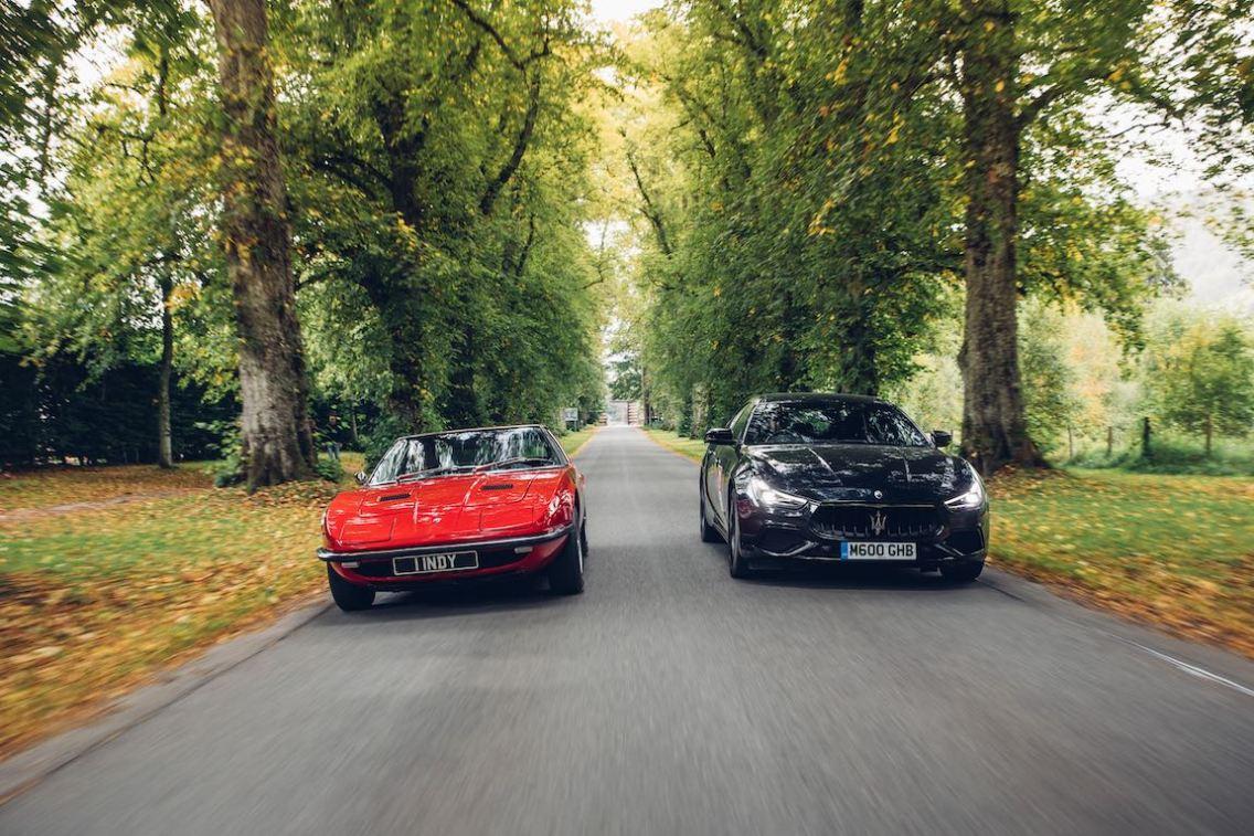 Blair Castle - Maserati Indy, Maserati Ghibli