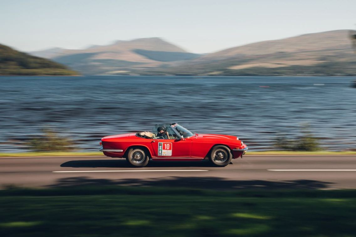 Loch Fyne Inveraray Castle - Maserati Mistral Spyder