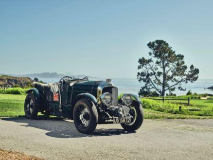 1929 Bentley 4.5-Litre Blower, registration UU 5872