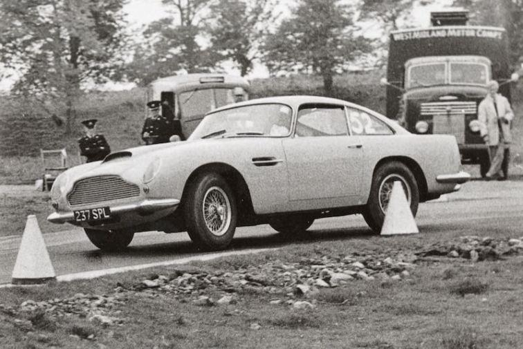 Ex-Phil Scragg 1961 Aston Martin DB4GT 'Lightweight' (Credit: AMHT)