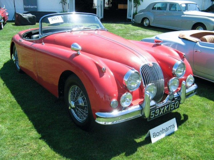1959 Jaguar XK 150 Roadster