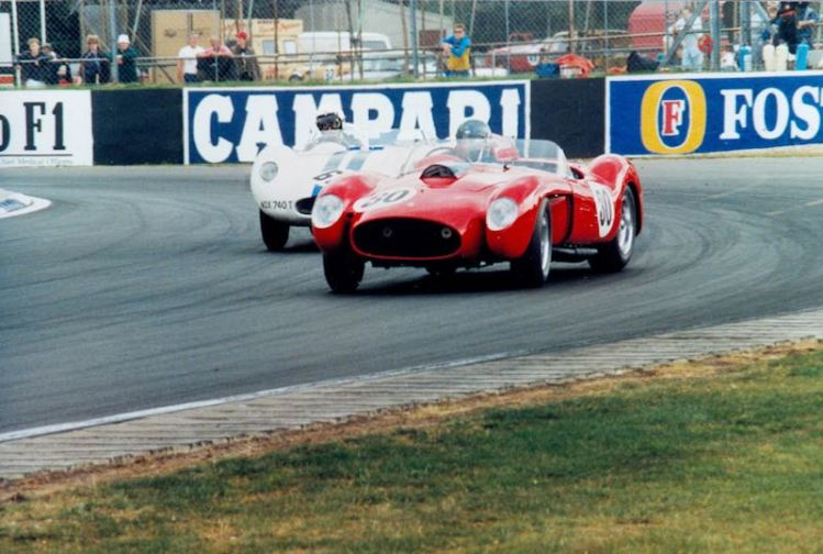 Ferrari 250 Testa Rossa at the original Silverstone Classic