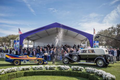 2020 Amelia Island Concours d'Elegance Best in Show winners.