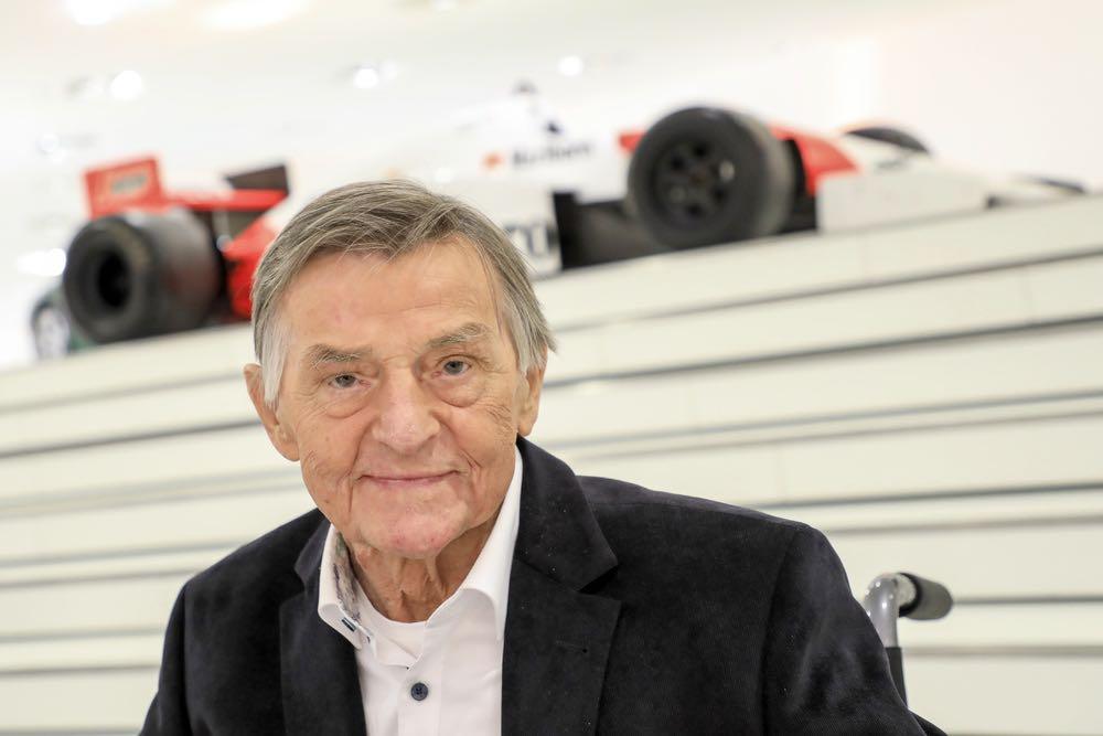 Engineering legend Hans Mezger