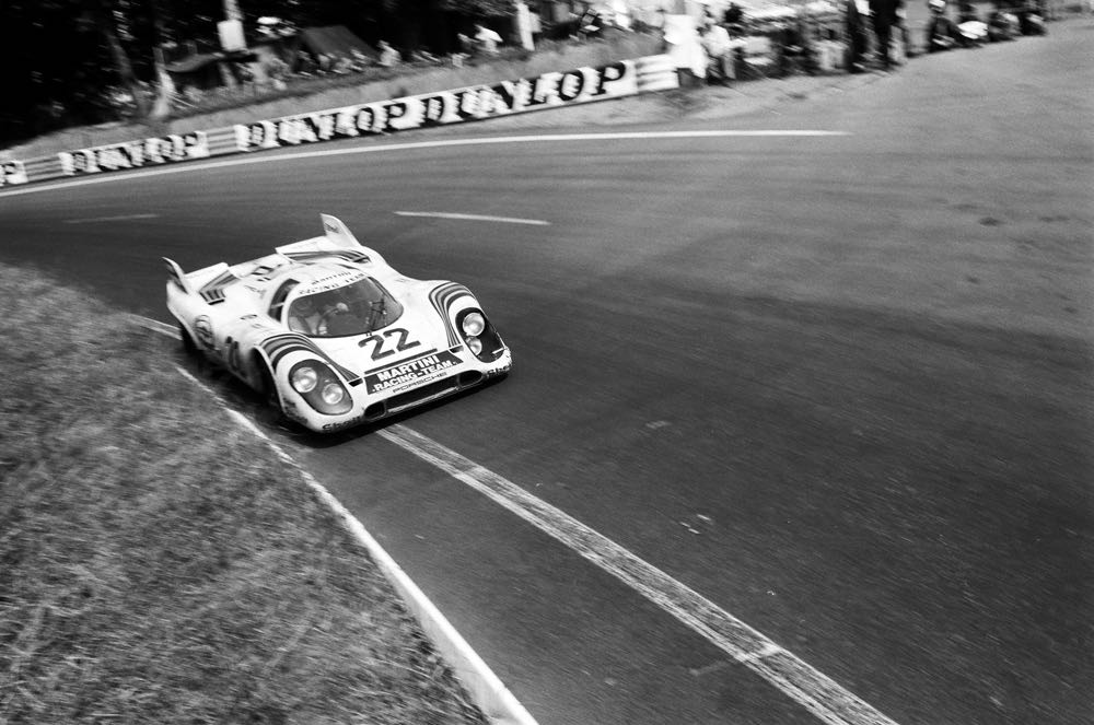 1971 Le Mans winning Porsche 917 KH of Gijs van Lennep and Helmut Marko
