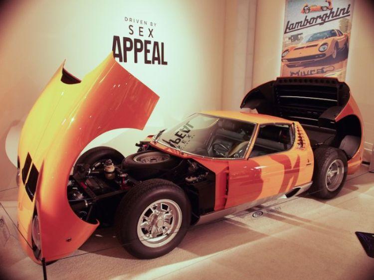 1972 Lamborghini Miura P400 SV Coupe, Body by Bertone