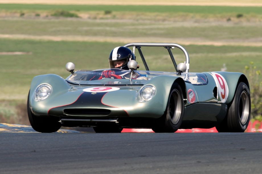Jeff Abramson's 1966 Lotus 23C in two.