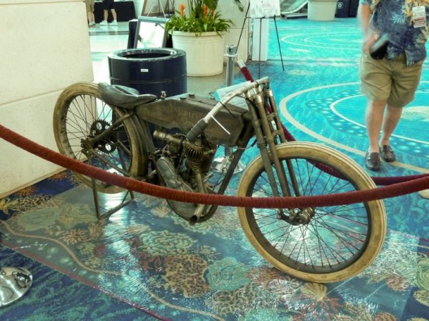 1915 Harley-Davidson Factory Board Track Racer Motorcycle