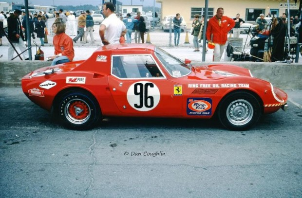 Donna Mae Mims Suzy Dietrich Ring Free Oil Racing Team ASA 411 Daytona in 1967
