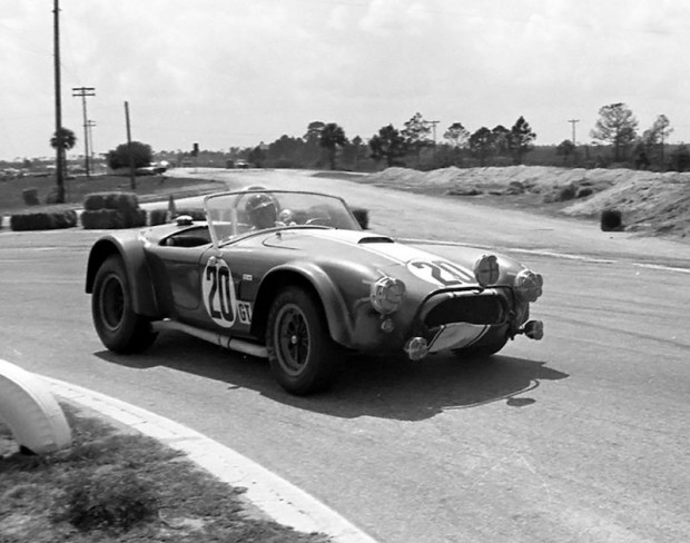 George Reed & Dan Gerber failed to finish in this Cobra