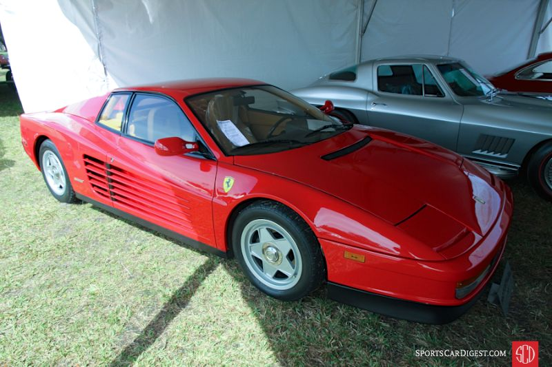 1987 Ferrari Testarossa Coupe, Body by Pininfarina