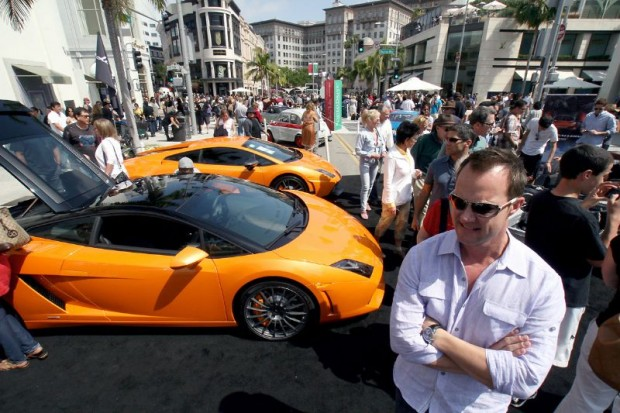 Lamborghinis to Fiats at Rodeo Drive