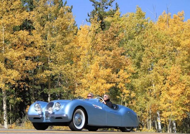 1950 Jaguar 120 Supersports at Colorado Grand 2010