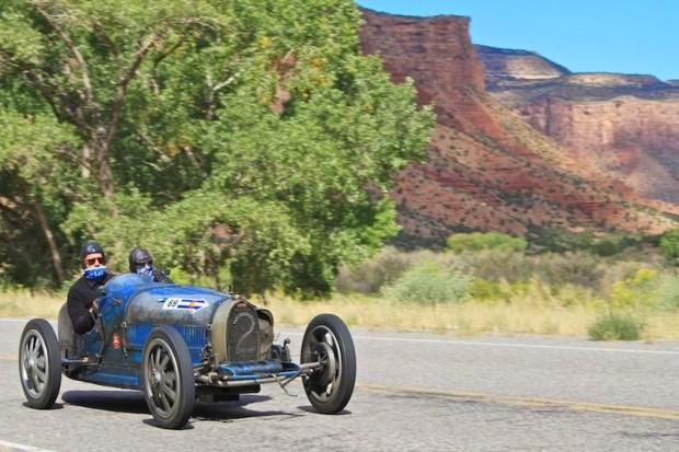 1925 Bugatti T35 Grand Prix at Colorado Grand 2010