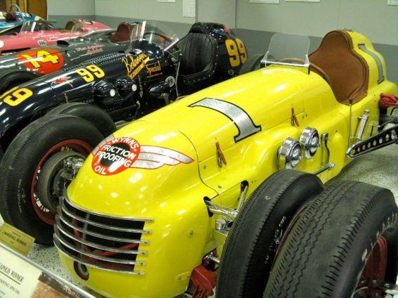 Kurtis and Watson-Offys represent 1950-1964 500 Winners