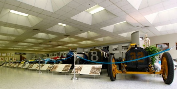 Front-engine Indianapolis 500 Champions at Indianapolis Motor Speedway Museum