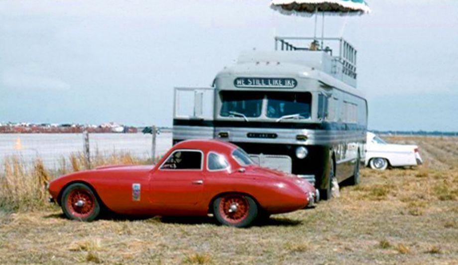 Aston Martin at Sebring, 1956