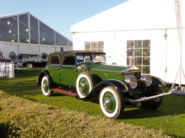 1930 Rolls-Royce Phantom I Transformal Phaeton Hibbard and Darrin