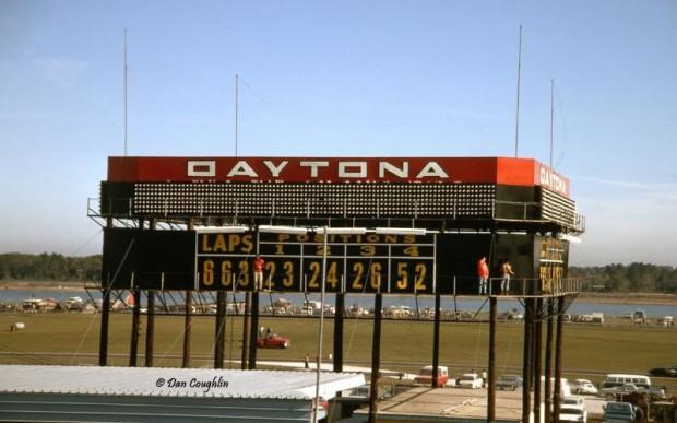1967 24 Hours of Daytona scoreboard