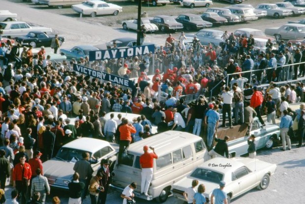 Victory lane Daytona 1967 24 Hours picture