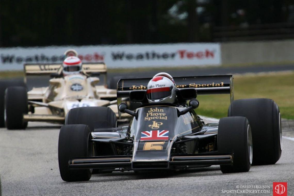 Chris Locke, 76 Lotus 77