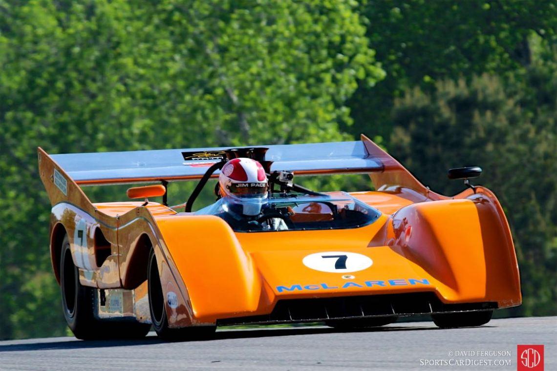 Jim Pace, 72 McLaren M8F