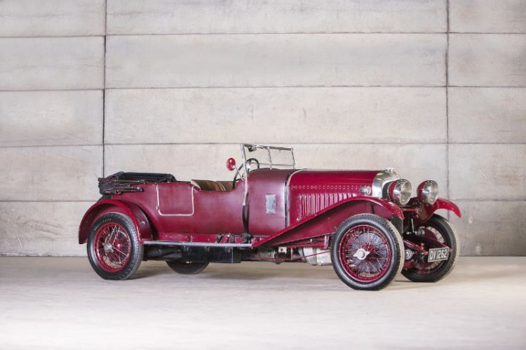1929 Bentley 4 1/2 Liter Tourer, Body by Vanden Plas
