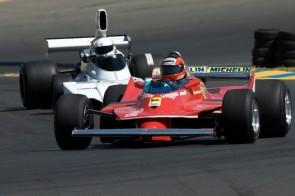Historic Ferrari F1 at Sears Point