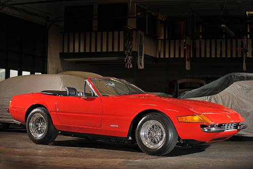 <strong>1973 Ferrari 368 GTB/4 Daytona Spyder – Estimate $800,000 - $1,000,000. </strong>From Reggie Jackson Collection; ex-Evil Knievel and DJ Frankie Crocker.