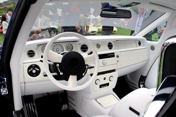 2011 Rolls Royce Phantom cabin - Michael Fux. Photo William Edgar