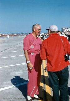 SCCA president Jim Kimberly.  He drove a Ferrari at Sebring in 1956.  (Gene Bussian photo)