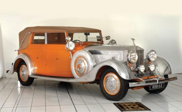 1934 Rolls-Royce Phantom II Continental Cabriolet 'Star of India'
