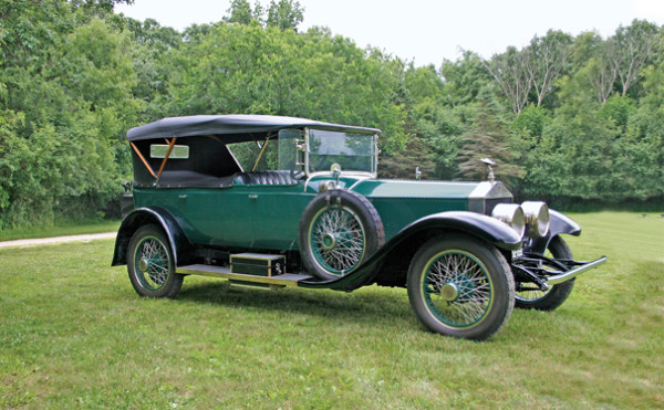 <strong>1921 Rolls-Royce Springfield Silver Ghost 40/50HP Oxford Seven-Passenger Tourer – Estimate $275,000 - $350,000.</strong> Coachwork by Rolls-Royce Custom Coachworks; original engine, body and chassis with only 24,000 miles from new; part of Robert Merrifield Collection.