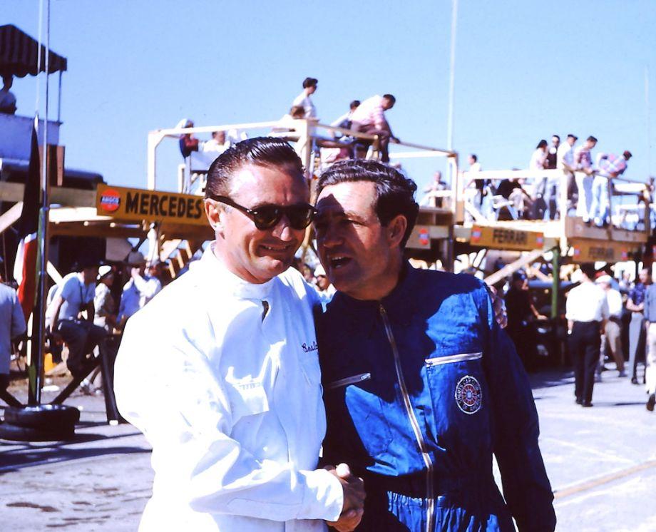 Jack Ensley and Briggs Cunningham 1956 Sebring 12 Hours
