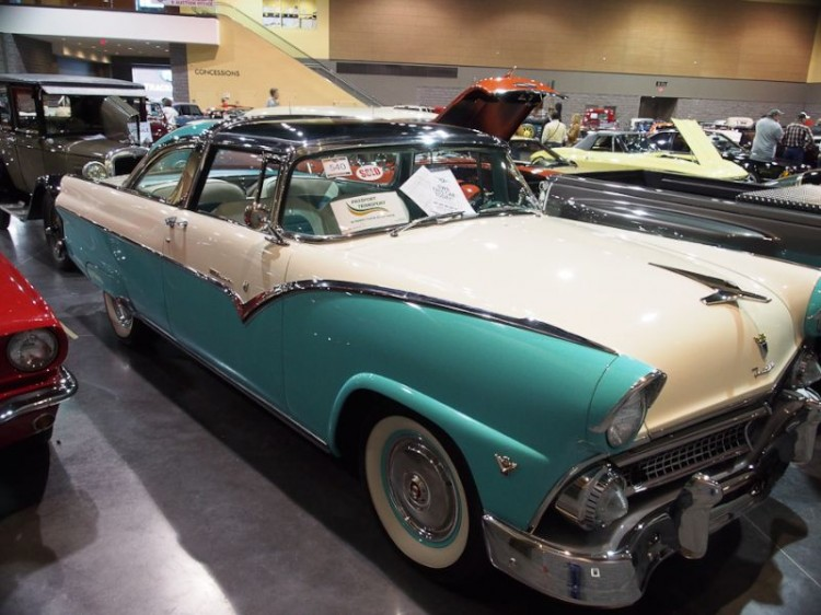 1955 Ford Crown Victoria Skyliner 2-Dr. Sedan Glass Top